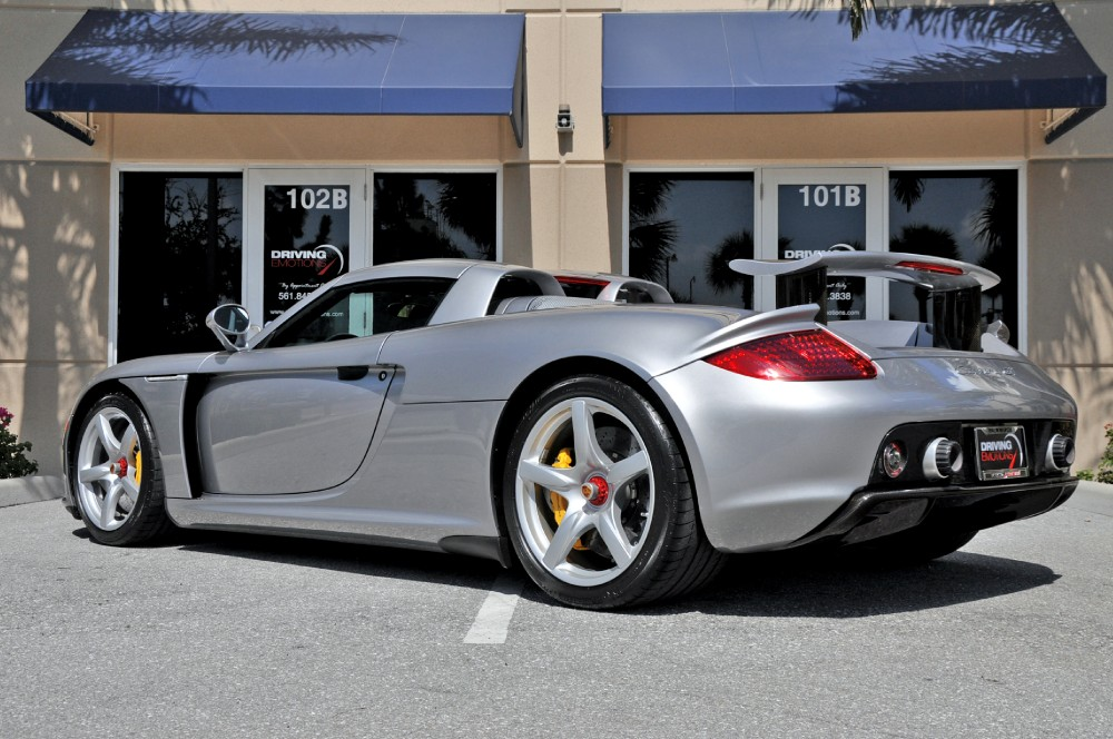 2004 porsche carrera gt stock 5236 for sale near lake. Black Bedroom Furniture Sets. Home Design Ideas