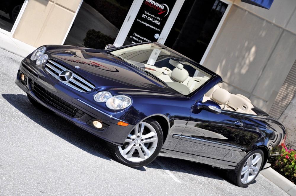 2008 Mercedes-Benz CLK350 Cabriolet 350 Convertible Stock ...