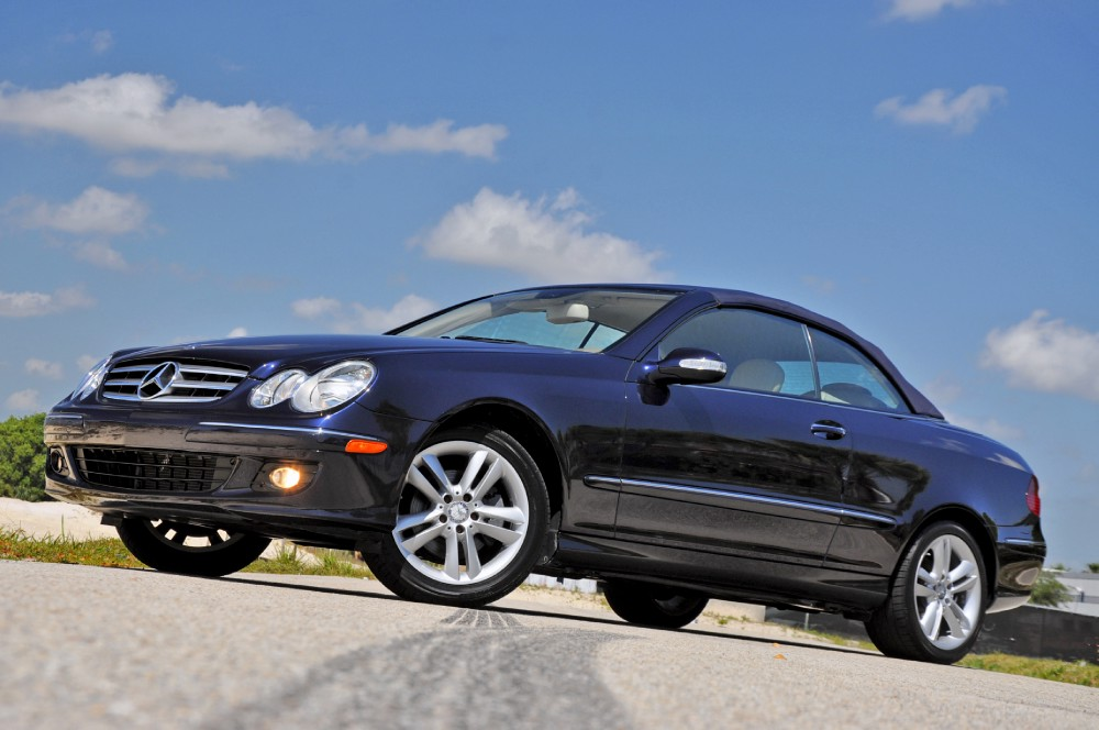 2008 mercedes benz clk350 cabriolet 350 convertible stock for Mercedes benz clk350 convertible for sale