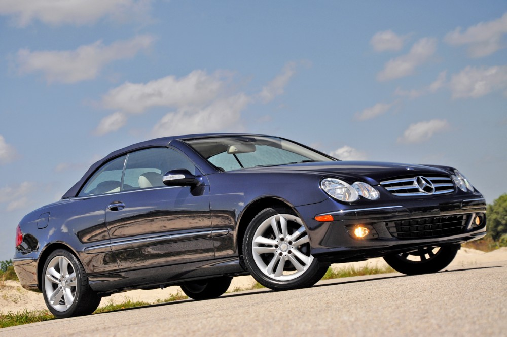 2008 mercedes benz clk350 cabriolet 350 convertible stock for Mercedes benz clk350 convertible